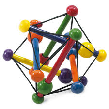 jeux en bois pour enfants hochet bois skwish manhattan toy pour enfant dès la naissance