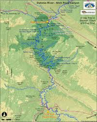 India River Map by Dolores River Map Slick Rock Canyon Colorado