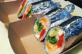 sushi burrito u0027 coming to wicker park near division l stop wicker