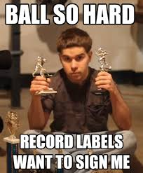 Funny Hip Hop Memes - ball so hard krispy kreme froggy fresh know your meme