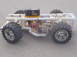 homemade 4x4 rc car built from common materials make