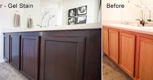 staining kitchen cabinets before and after photos by sharon www sharonsphoto com personal diy project