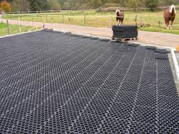 recycled plastic flooring commercial tile perforated