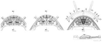 Airport Floor Plan by Gf Plan 1f Plan 2f Plan Terminal Section Airport Interior