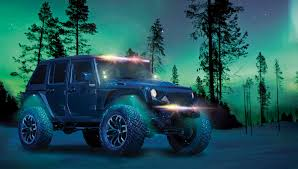 jeep accessories lights innovation in rgb led lighting in hella accessories sema show