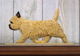 cairn terrier figurine sign plaque display wall decoration