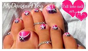 40 pink toe nail art design ideas