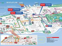 New York City Attractions Map by Download Printable Map Of New York City Attractions Major