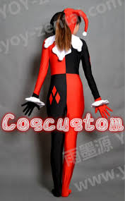 aliexpress com buy coscustom high quality batman harley quinn