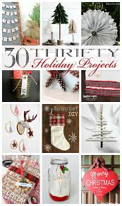Diy Crafts For Christmas Gifts - 30 incredible thrifty holiday diy projects the happy housie
