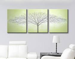 black and white art love bird painting 3 piece art canvas art