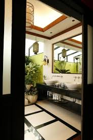 66 best bathroom ideas images on pinterest room home and love the green on the wall and the foliage tropical interiortropical designzen styleasian