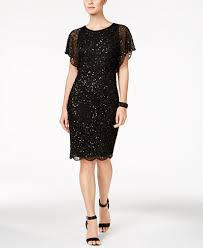 adrianna papell beaded sequined dress dresses women macy u0027s