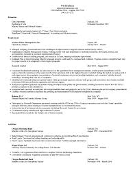 mba resume template mba resume exles pertamini co