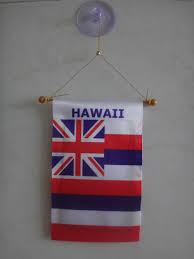 Yap Flag Mini Car Hanging American Samoa And Western Samoa Flag Banner
