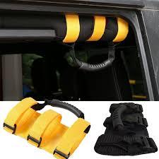 jeep wrangler grips aliexpress com buy grab handles rear seat grip accessory black