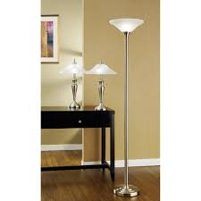 artiva usa 3 piece 71 inch torchiere and 24 inch table lamps with