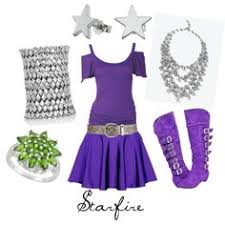 Starfire Costume Teen Titans Cosplay Starfire Costume I Have To Make This For