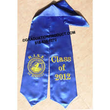 personalized graduation stoles custom graduation stoles graduationproduct