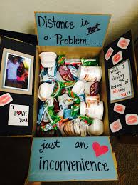 creative college care package ideas distance boyfriends and snacks