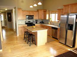 maple cabinets with dark counters mom and dads kitchen nice dark hardwood floors with maple cabinets hardwoods design