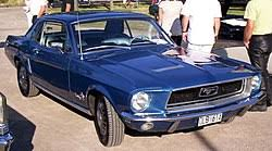 1967 blue mustang ford mustang 1964