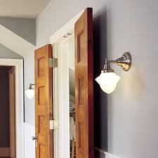 Hallway Lighting Cottage Style Sconces Provide Hallway Lighting Brass Light Gallery
