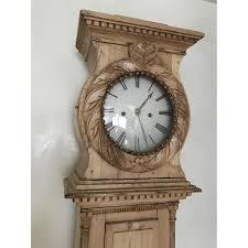 scandinavian 19th century pine grandfather clock aptdeco