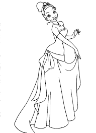 tiana and naveen coloring pages tiana is the who loved