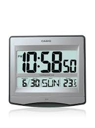 buy casio digital wall clock id 14 8df online at low prices in