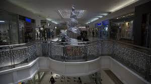 why south african malls put up christmas decorations so early