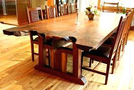 slab dining room table slab dining room table live edge dining table natural build live