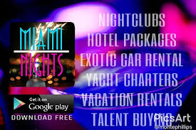 south beach miami party bus to cameo by miami nights on september