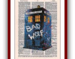 dr who watercolor etsy