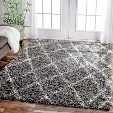 Grey Shaggy Rugs Creative Idea Grey Plush Rug Charming Decoration Grey Shag Rugs