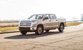 toyota old truck 2017 toyota tundra 5 7l v 8 crewmax 4x4 test u2013 review u2013 car and driver