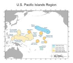 map of us islands and islands hawaii and pacific islands region noaa climate gov