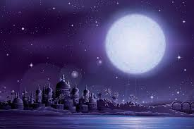 ancient moonlit fairytale wall mural muralswallpaper co uk