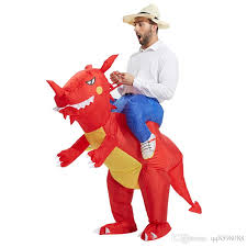 Quality Mens Halloween Costumes Quality Inflatable Dinosaur Costumes Adults Kids Dinosaur
