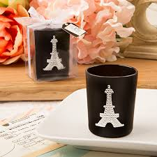 eiffel tower favors from with candle votive favors parisian baby shower favors