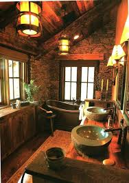 Log Cabin Bathroom Ideas Log Cabin Bathroom Decor Impressive Cabin Themed Bathroom Decor