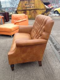 Laura Ashley Outdoor Furniture by Stunning Tan Leather Laura Ashley Lancaster Sofa Aherns Furniture