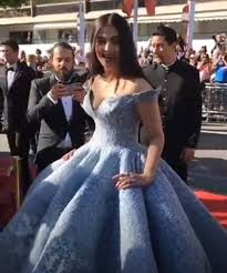 cannes 2017 aishwarya sizzles in fairy tale gown poses with rihanna