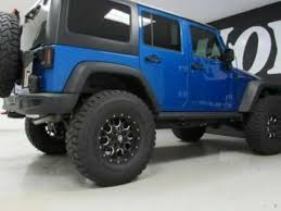 jeep rubicon 4x4 4 door 2016 jeep wrangler unlimited 4x4 4 door suv rubicon blue for sale