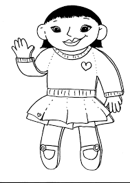 design templates colouring pages flat stanley template design