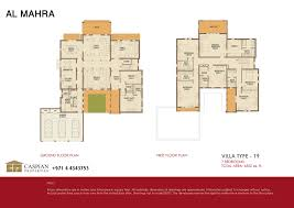arabian ranches al mahra floor plans