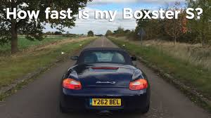 2001 porsche boxster 0 60 0 to 60 challenge how fast is my boxster s road race s02e30