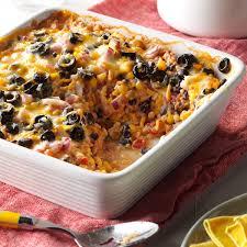 Dinner Ideas For A Diabetic Southwest Vegetarian Bake Recipe Taste Of Home