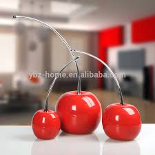 fancy resin contracted and modern cherry ornaments buy