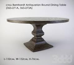 bernhardt round dining table стол bernhardt antiquarian round dining table furniture ideas